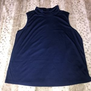Womens petite high neck dress top